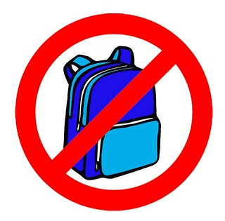 BACKPACKS BANNED, TUNA FESTIVAL 2013