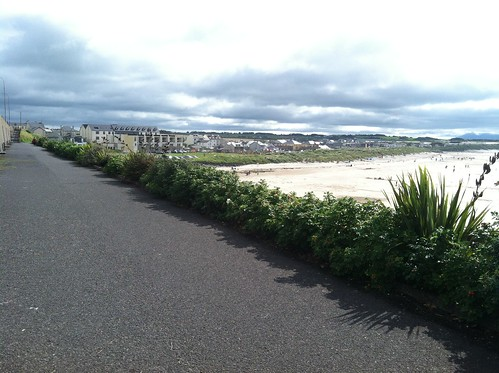 Enniscrone, Ireland beach