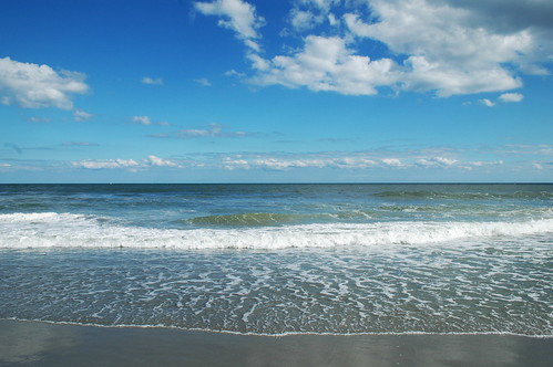 Atlantic Ocean - Myrtle Beach, South Carolina by Brian Williamsen