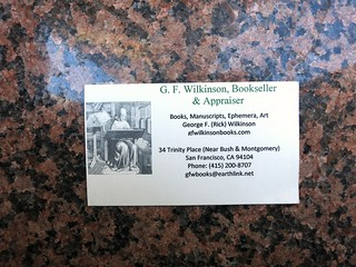 bookseller card