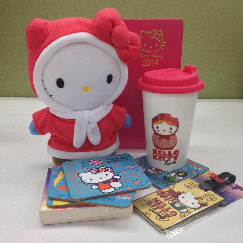 See the World with Hello Kitty!