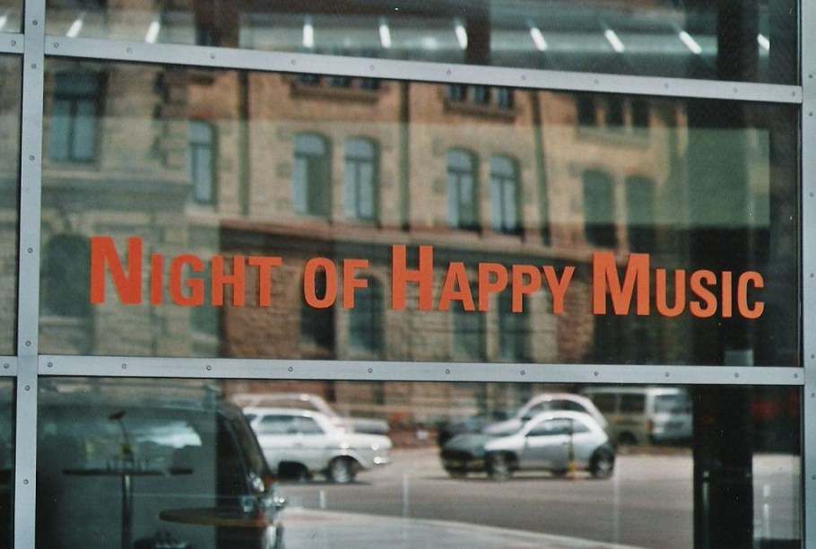 2000-05-06 Night of Happy Music, Konzert Reithalle, 6. Mai 2000