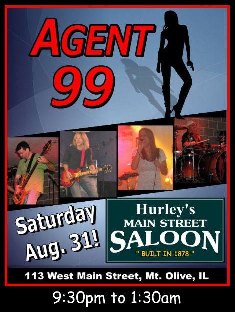 Agent 99 8-31-13