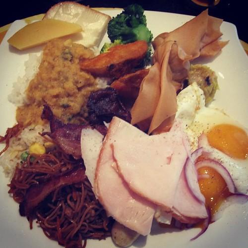 Breakfast at Oscars #singapore #foodporn by @MySoDotCom