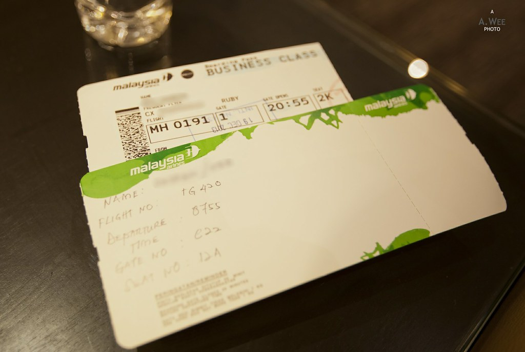Handwritten Boarding Pass