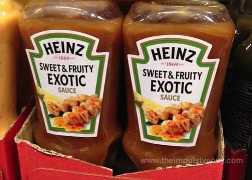 Heinz Sweet & Fruity Exotic Sauce