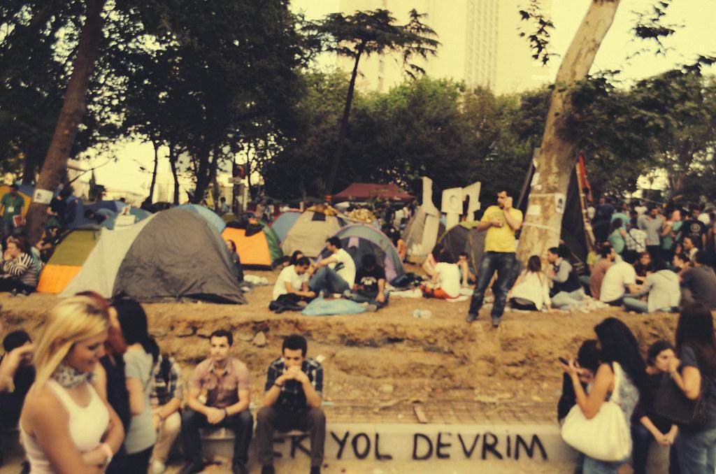 Gezi Park Camp