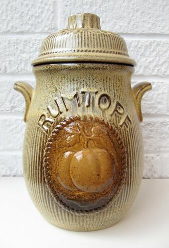 Rumtopf pot
