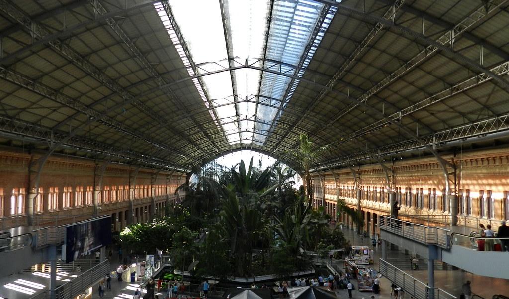 Madrid estación de Atocha 05 panoramica