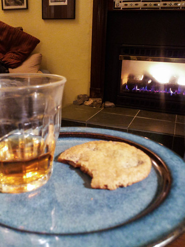 bourbon and a cookie