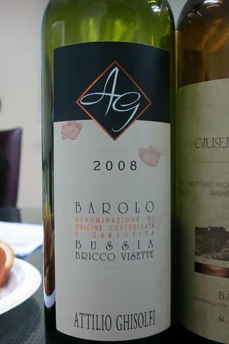 Attilio Ghisolfi Barolo Riserva DOCG Bussia Bricco Visette 2008