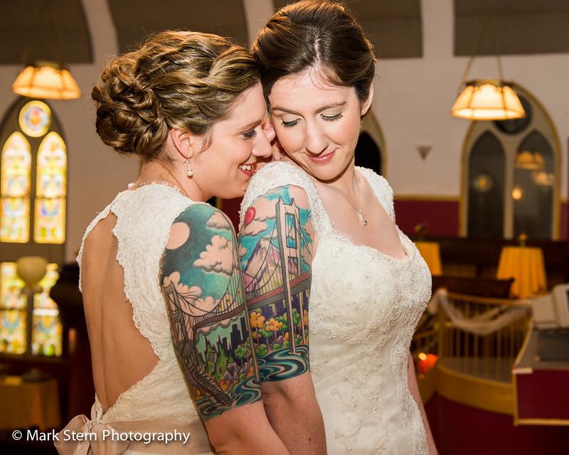 Tattooed Lesbian