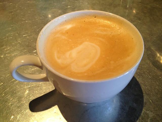 Cafe latte - Woodlands Cafe