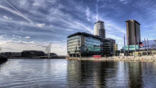 Media City , Salford, Manchester