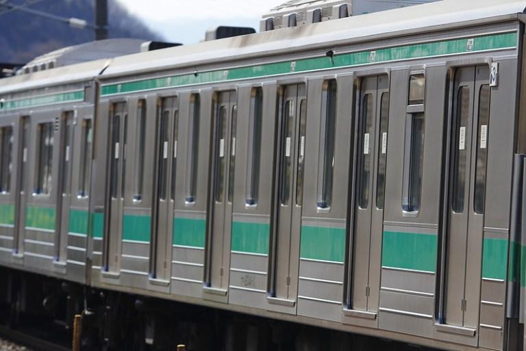 埼京線205系ハエ18編成 海外譲渡輸送