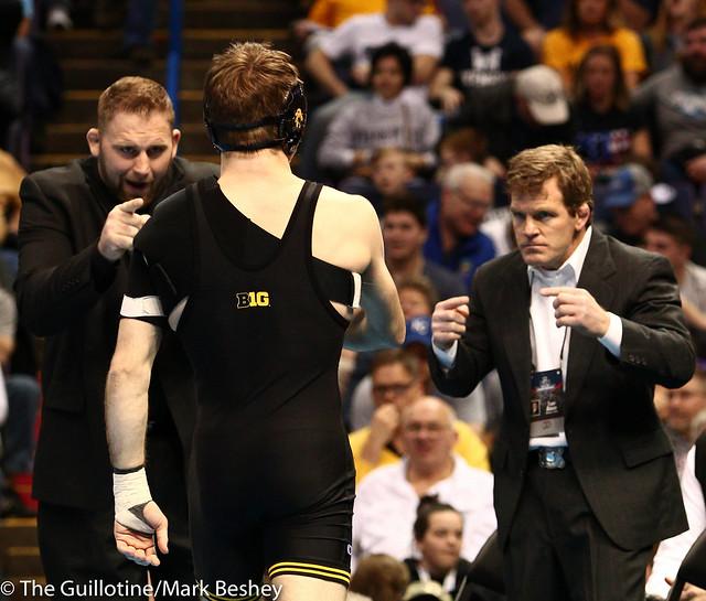 Ben Berhow, 133 - Cory Clark, and Terry Brands