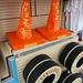 Cozy Cone hats and Luigi Tire hats!