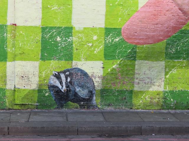 Shoreditch street art - Martin Ron