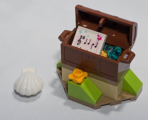 REVIEW LEGO 41050 - Les trésors secrets d'Ariel
