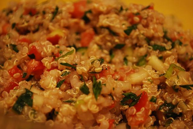 Quinoa Tabbouleh Salad