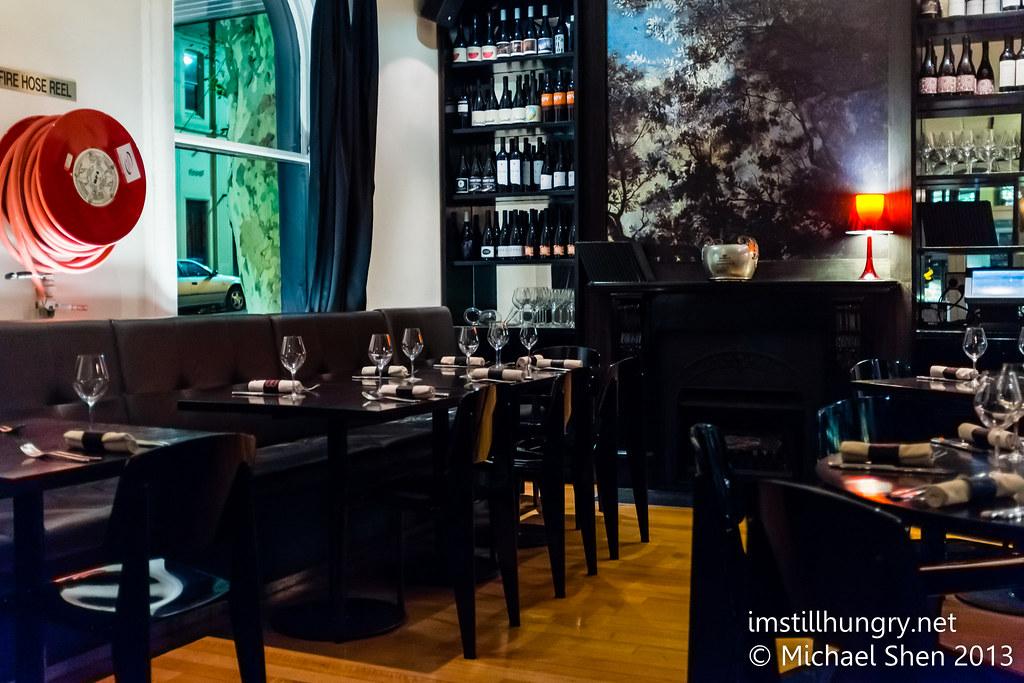 Bentley Restaurant interior