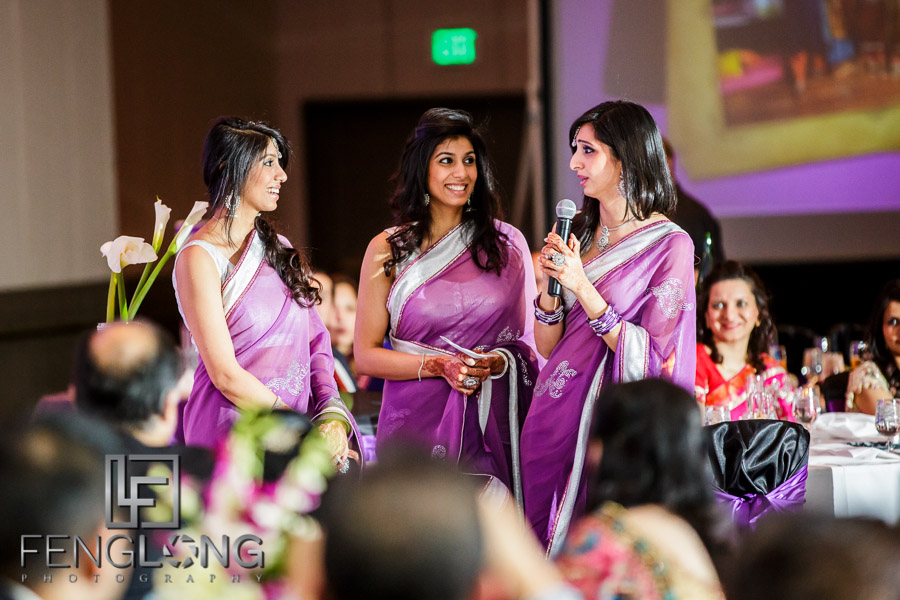 Indian wedding reception speeches