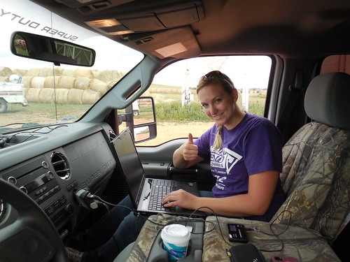 Working from the pickup
