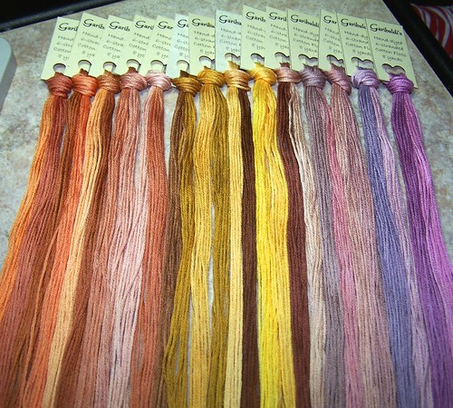 Garibaldi's Hand-dyed Cotton Floss by Carmen CS