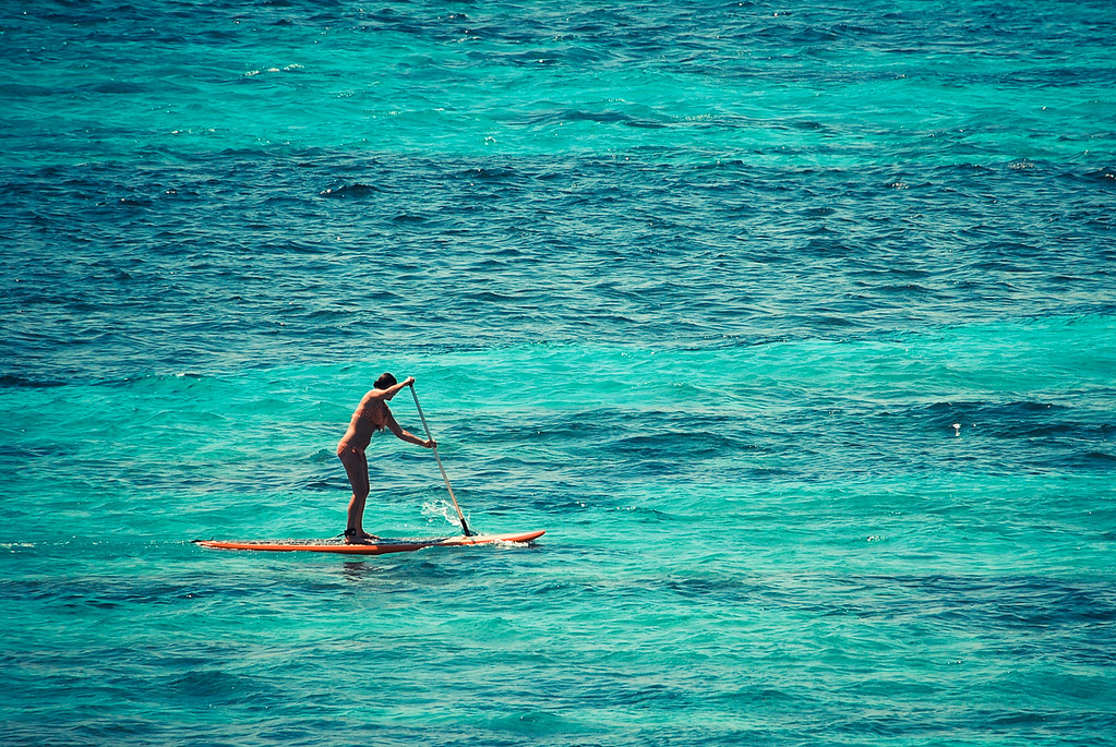 Paddle Surf, Lembongan, Bali, Indonesia