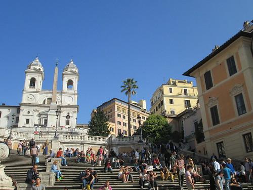 Trinità dei Monti, Piazza di Spagna. Roma