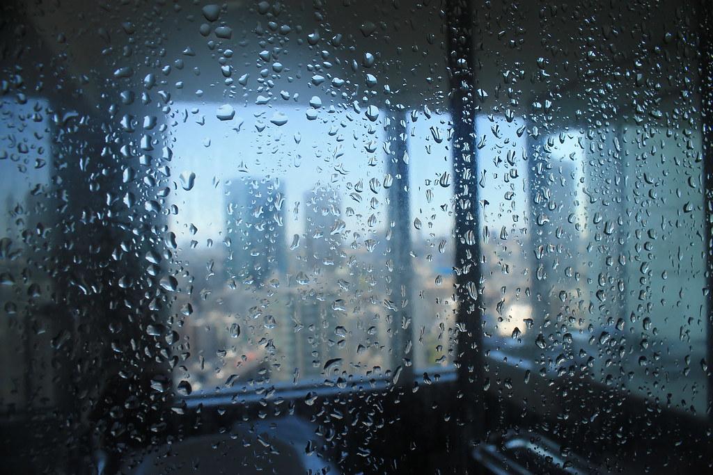 Una ducha con vistas