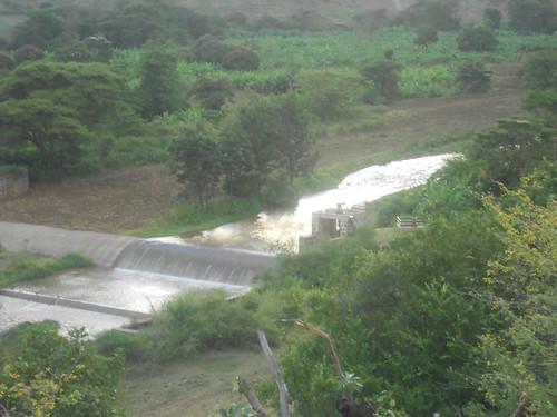 Irrigation cannal for Banana plantation in Arbaminch (Photo:ILRI\Birhanu Biazin)