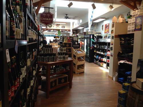 Craft Beer Cellar - Sake is in back of store