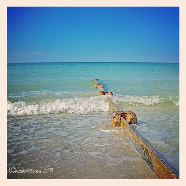Sep 21 - rule of thirds {on the beach} #fmsphotoaday #beach #gulfofmexico #florida #bluesky