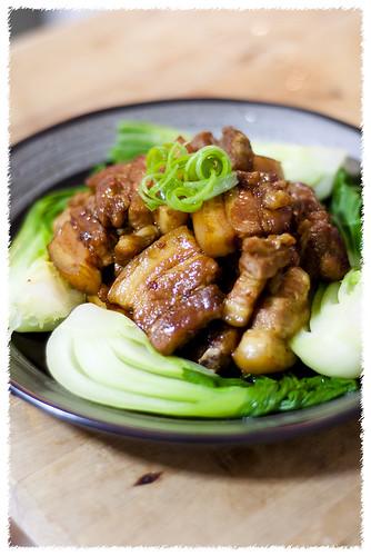 Japanese Style Braised Pork (Buta Kaku-ni)