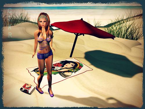 Reliquia Gitana Beach Set