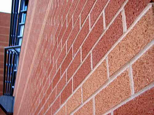 Red Brick Wall by Varish