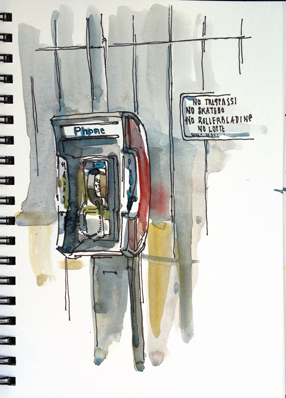 Pay Phone, San Jose, California