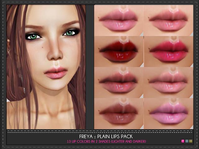 Freya Lips Pack