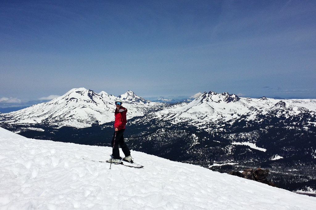 Skiing Mount Bachelor
