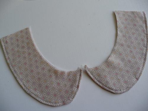 Blouse Collar - work in progress