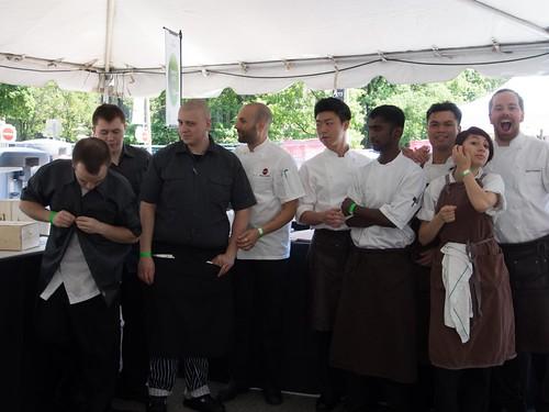 The Buca Crew at Toronto Taste 2013
