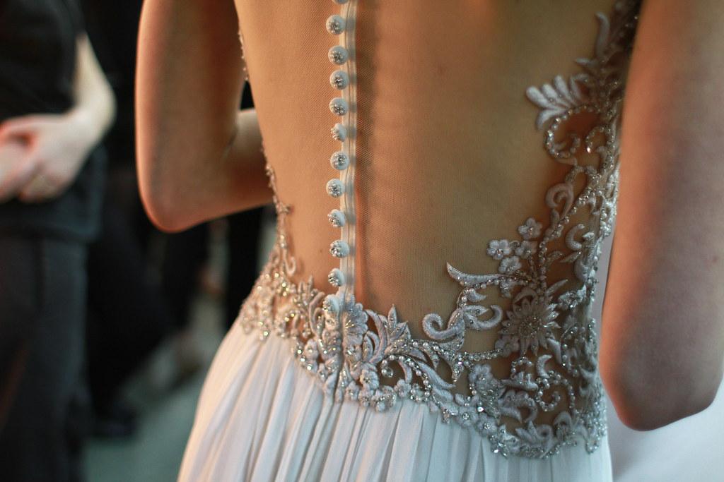 Reem Acra Spring 2014 Bridal- Backstage - 034