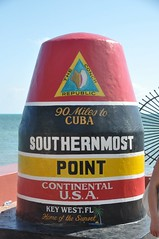 Southern most point, 90 miles to Cuba, Key west