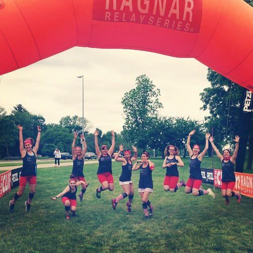 We love running! #AmericanSweathearts #RagnarCHI