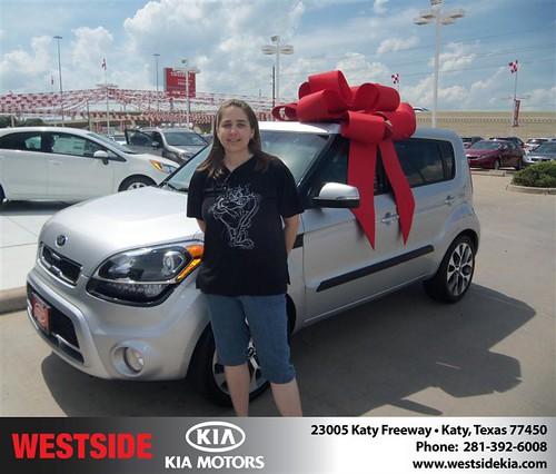 Westside KIA Houston Texas Customer Reviews and Testimonials - Julieann Hoskins by Westside KIA