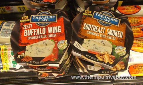 Treasure Cave Zesty Buffalo Wing and Southeast Smoked Blue Cheese