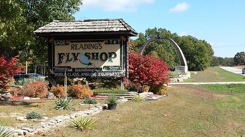 Reading's Fly Shop near Bennett Spring