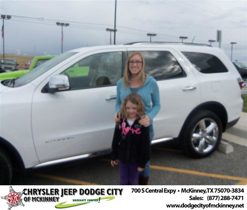 Happy Anniversary to Wes Byrd on your 2013 #Dodge #Durango from Scott  Arnold  and everyone at Dodge City of McKinney! #Anniversary by Dodge City McKinney Texas