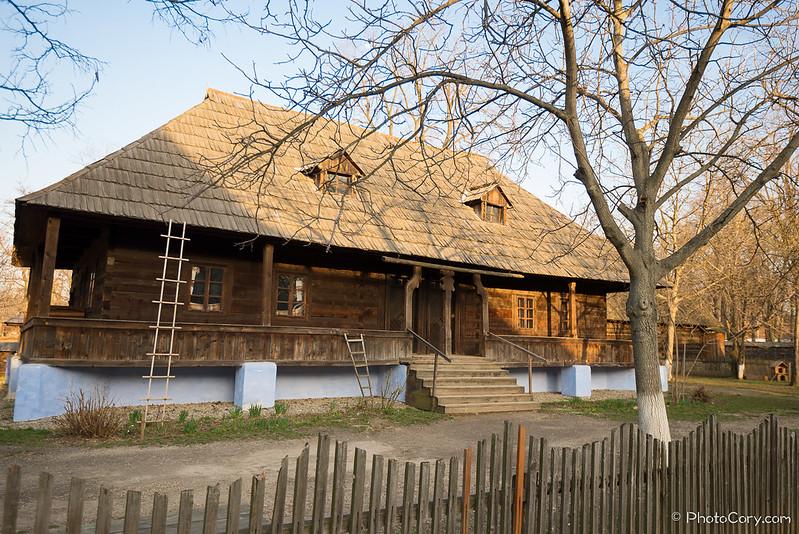 casa in Muzeul Satului din Bucuresti